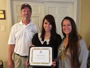 Mariah Garcia 2013 Scholarship Winner